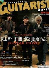 """GUITARIST & BASS #231 """"J.White,The Edge,J.Page,Orianthi,G.Roussel"""" (revue) + CD"""