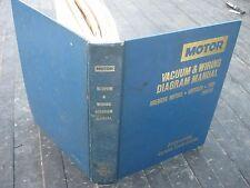1983-84 Motor Vacuum & Wiring Diagram Manual book American Motors Chrysler Ford