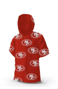 NEW Reusable NFL San Francisco 49ers WinCraft Team Rain Poncho SF FREE SHIPPING!