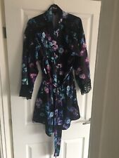 Lipsy London Beautiful Floral Dressing Gown 12-14