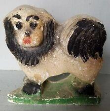 Vintage Carnival Game Prize Chalk/Chalkware Puppy Dog