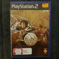 ⚔ Genji || PS2/Playstation 2 || Includes Manual || Pre-owned || Used || PAL