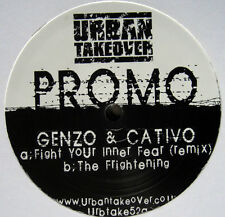 Genzo & Cativo ‎– Fight Your Inner Fear (Remix) / The Frightening NEW VINYL 12""