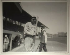 Vintage Babe Ruth Boston Red Sox George Grantham Bain 1919 B&W Photograph