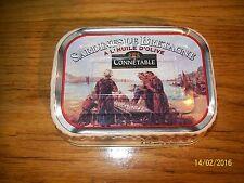 boîte de sardine pleine CONNETABLE bretagne DOUARNENEZ FRENCH METAL BOX FISH