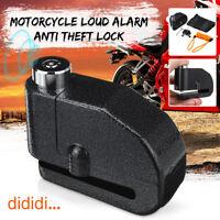 7mm Bloc Disque Bloque Protection Alarme forte Antivol 110 db Moto Scooter Vélo