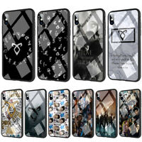 Shadowhunters Runes Tempered Glass TPU Case for iPhone XS MAX X 8 7 6 6S Plus