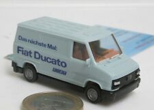 "Praline:  Fiat  Ducato Kasten  ""Fiat Ducato""   h'blau   (7542)"