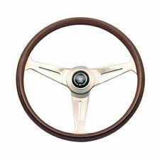 BEETLE CABRIO Steering Wheel, Nardi Classic, Wood with Gloss Spokes, 390mm