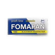 1 Roll x FOMAPAN 100 Profi Line Classic 120 Medium Format B&W Film by FOMA Fresh