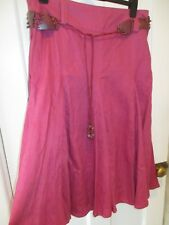 Ladies Roman originals linen skirt (size 16 ) new with labels.