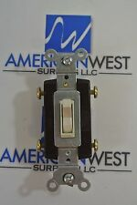Pass & Seymour 15 Amp 4-Way Toggle Switch 120/277 Volt Cat: 664-LAG NIB