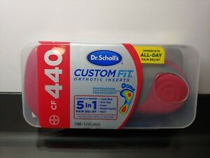 Dr. Scholls CF 440 Custom Fit Orthotic Inserts - Red