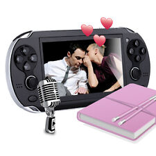 New 4.3'' 32Bit 1000-Games Built-In Portable Handheld Video Game Console Player