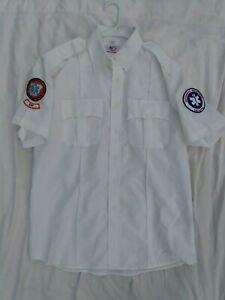 Arkansas Department of Health FIRST CLASS EMT Work Shirt Uniform Mens L 16 -16.5