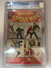 Amazing Spider-Man 4 CGC 6.0 1st Sandman