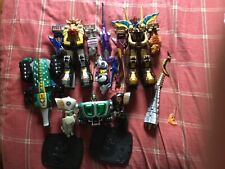 Power Rangers Wild Force Zord lot Megazord, Predazord, Animus, Gorilla, Black Be