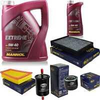 Inspektionspaket 6L MANNOL Extreme 5W-40 Motoröl + SCT Filter KIT 10755820