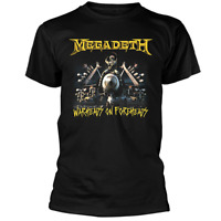 Megadeth  Band Afterburn - Warheads On Foreheads Men's T-Shirt New S-4XL A1698