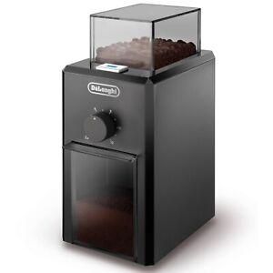 Delonghi KG79 Professional Burr Coffee Grinder 110 Watts 16 Litres 120g - Black