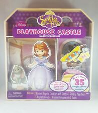 Disney Sofia's Dress up Magnetic Wooden Dress-up Doll & Playhouse