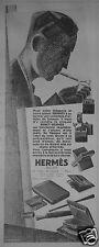 PUBLICITÉ DE PRESSE 1927 HERMES SELLIER LE BRIQUET BENEY-HERMÈS - ADVERTISING