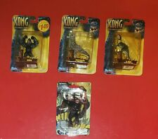 King Kong + Kong 8th Wonder of the World, V-Rex &  Foetodon (Playmates Set of 3)