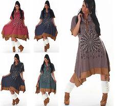 Knielange Damenkleider aus Polyester für die Freizeit