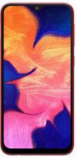"Samsung Galaxy A10 6.2"" 32GB+2GB RAM NUOVO Dual Sim Smartphone Red Rosso"