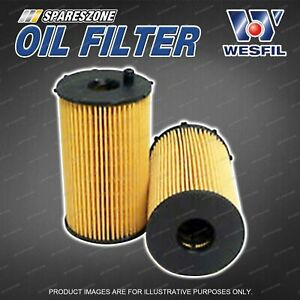 Wesfil Oil Filters for Peugeot 407 ST 2.7L V6 HDi CRD DOHC 24V Turbo