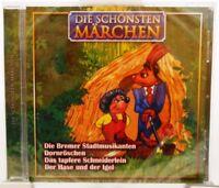Die schönsten Märchen + CD + Tolles Hörbuch für Kinder mit 4 Geschichten +