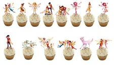 16  Mia and me stand up Edible Cupcake Toppers Edible Decorations  **Pre Cut**