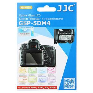 JJC Ultra-thin Glass LCD Screen Protector fr Canon 5D Mark IV 5DM4 5DM3 5DS 5DSR