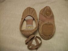 Capezio Ballet Shoe Leather Split Sole 2010 Child New Pink or Black