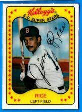 1981 Kellogg's JIM RICE (ex-mt) Boston Red Sox