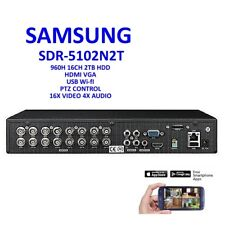 Samsung SDR-5102N 16-Channel Security SDR-5102 DVR w/ 2TB HDD for SDS-P5122
