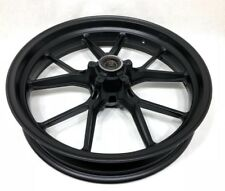 "Ducati Marchesini OEM Black 10 Spoke Front Wheel Rim 3.5"" x 17"""