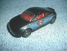 1999 MATCHBOX DC COMICS AUDI TT SUPERMAN RETURNS 1:57 BLACK & BLUE DIECAST CAR