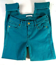 Seven 7 For All Mankind Womens Jeans size 27 Slim Straight Stretch Denim Low_471