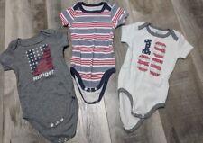 Tommy Hilfiger Boy Bodysuits Size 3 - 6 Months