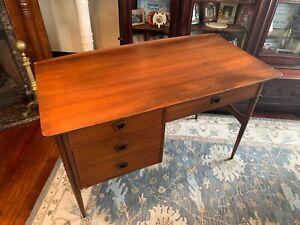 Super nice Mid Century Modern Bassett Walnut Desk