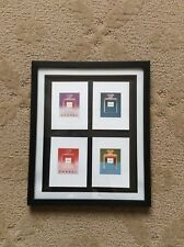 4 CHANEL POSTER CARDS PROMOTIONAL ANDY WARHOL IN A FRAME