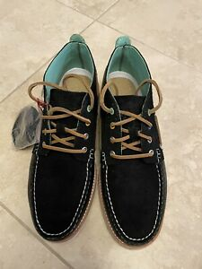 BRAND NEW SPERRY CLOUD CHUKKA CORDUROY LEATHER VIBRAM SOLE BOAT SHOES MEN US11