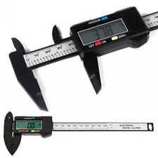 LCD Digital Vernier Caliper 150mm Micrometer Measure Electronic Tool Gauge Black