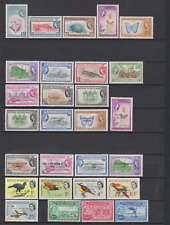 British Honduras 1953/1960's Mint Mounted Collection to $5