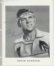 Marvin Rainwater 3 8x10 Photos All Are Signed - Grand Ole Opry
