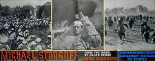 MICHAEL STROGOFF 1937 Anton Walbrook Elizabeth Allan JULES VERNE ADVERT
