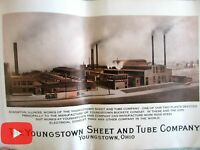 Youngstown Ohip Sheet & Tube Steel Co. 1928 Industrial photo study 12 images
