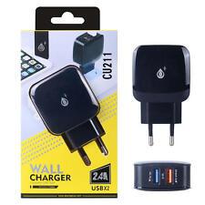Cargadores, bases y docks negros para teléfonos móviles y PDAs Universal