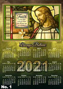 Religious / Christian Calendar 2021 - (6 DESIGNS)